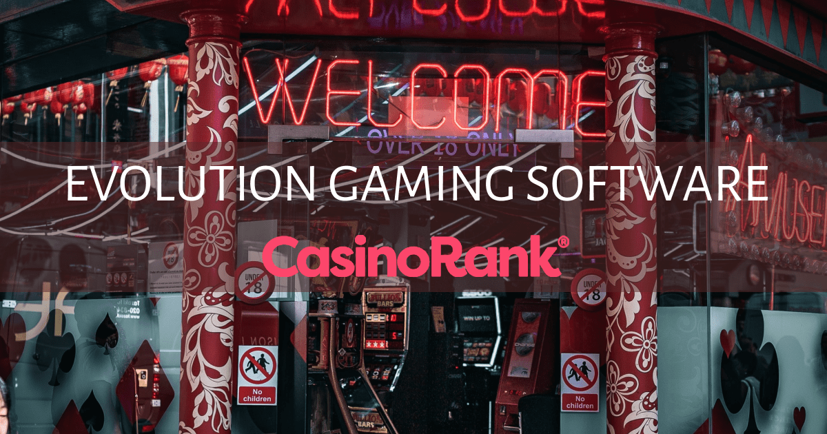 Best [%s:count] Evolution Gaming Online Casinos 2021